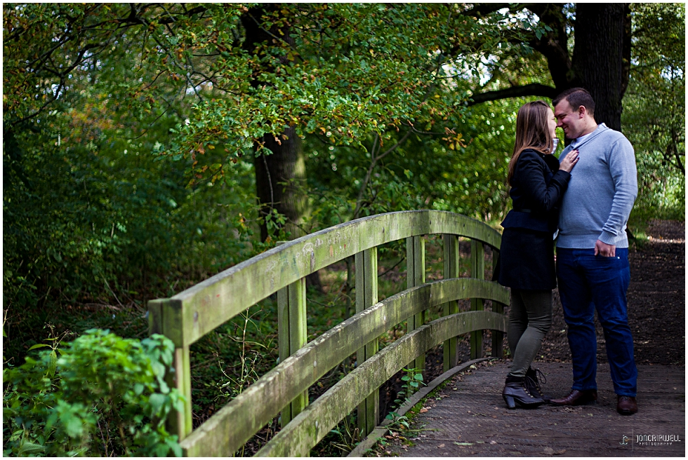 Engagement photography in Derby