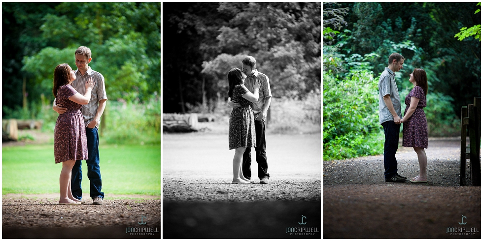 engagement shoot at elvaston castle derby
