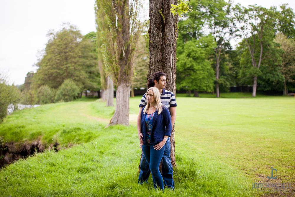 Derbyshire pre-wedding shoot at Chatsworth