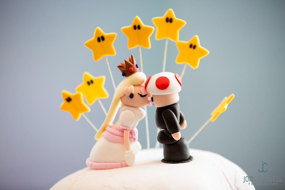 A Superb Super Mario Wedding Cake