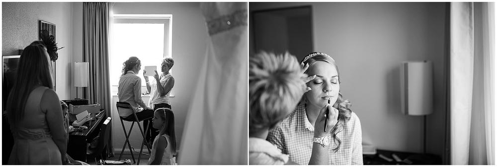 bridal makeup - Sheffield Wedding Photography