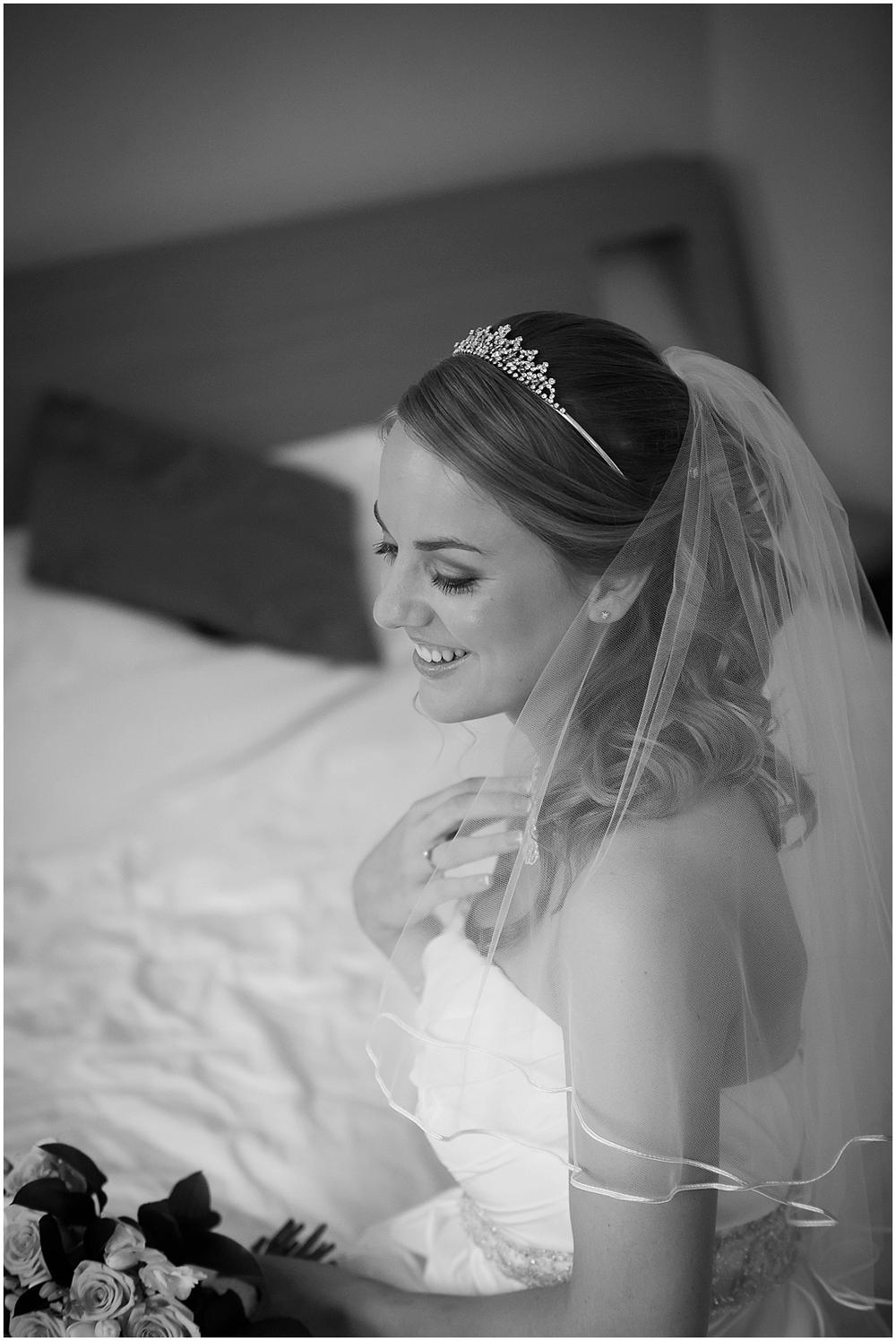 Beautiful bridal portrait - Sheffield Wedding Photography