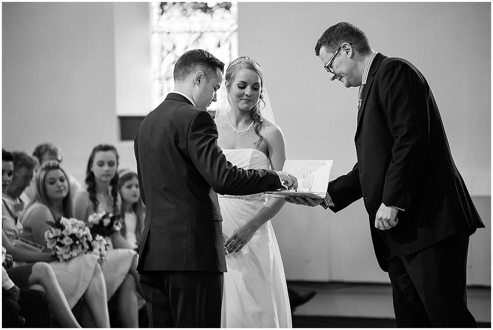 Wedding photography at St Thomas Crookes - Sheffield Wedding Photography
