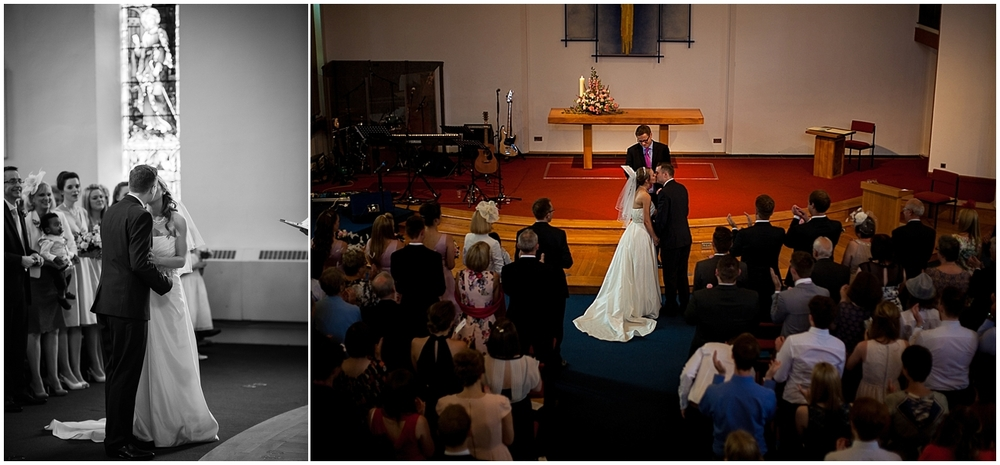 Emily and Tim get married at St Thomas Crookes - Sheffield Wedding Photography
