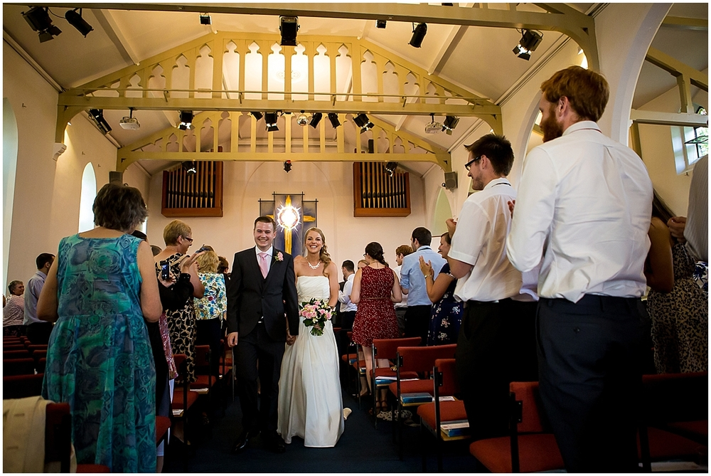 Just married at St Thomas Crookes - Sheffield Wedding Photography
