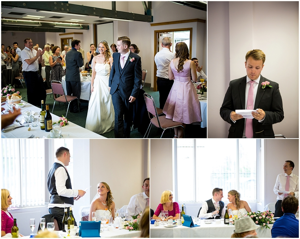 wedding speeches, wilson carlile centre - Sheffield Wedding Photography