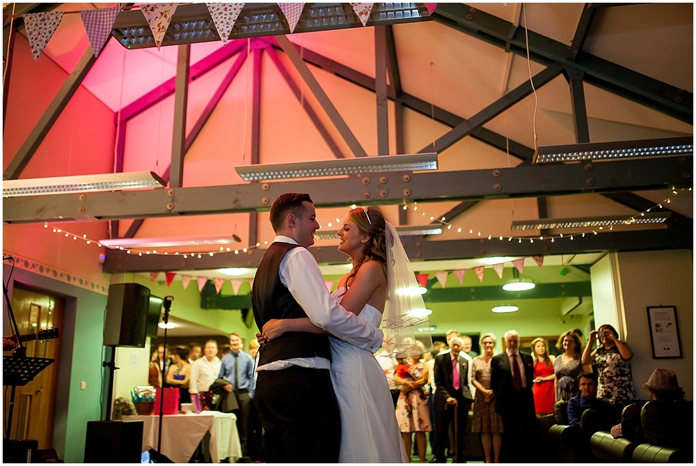 First dance - Sheffield Wedding Photography