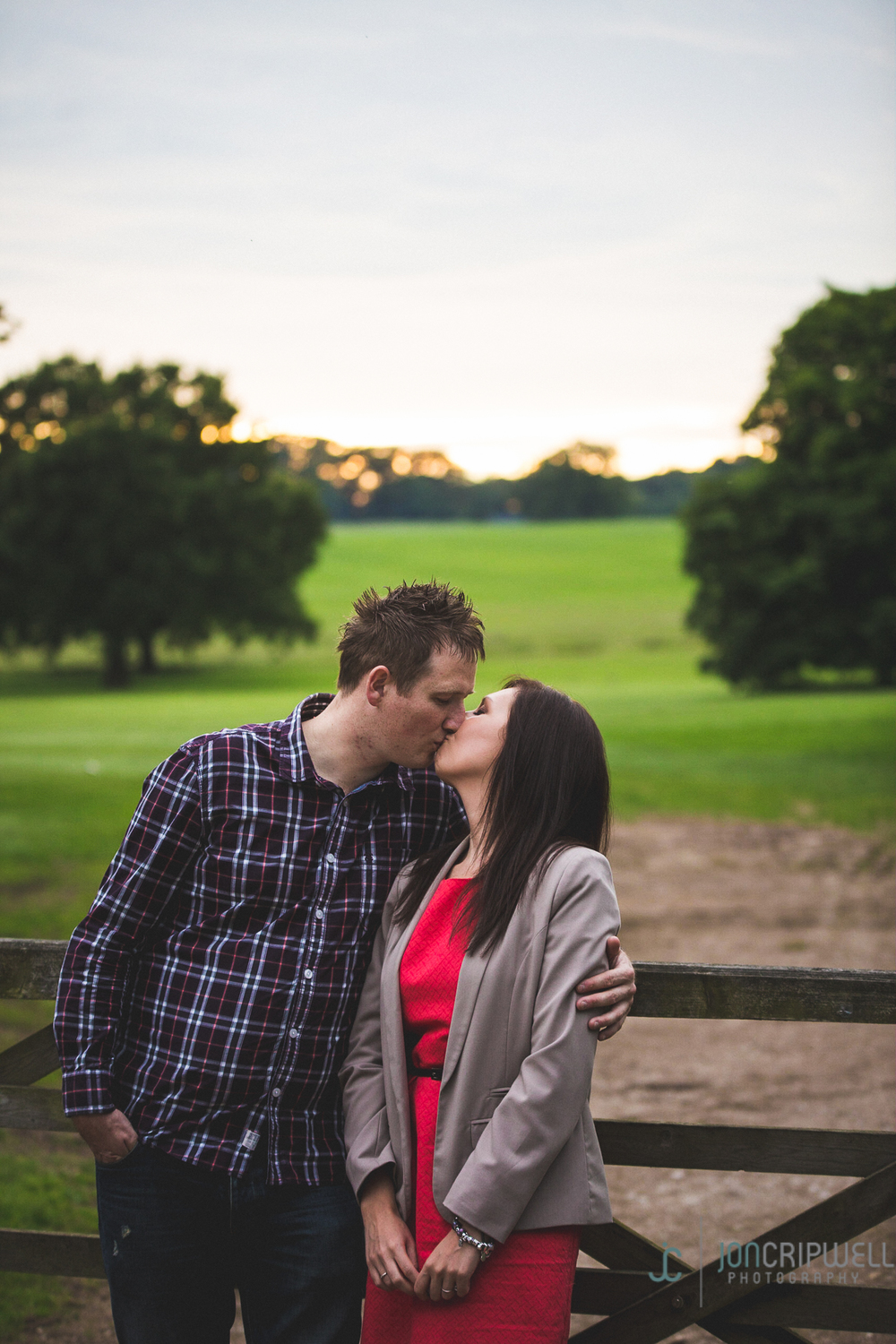 engagement shoot in derby