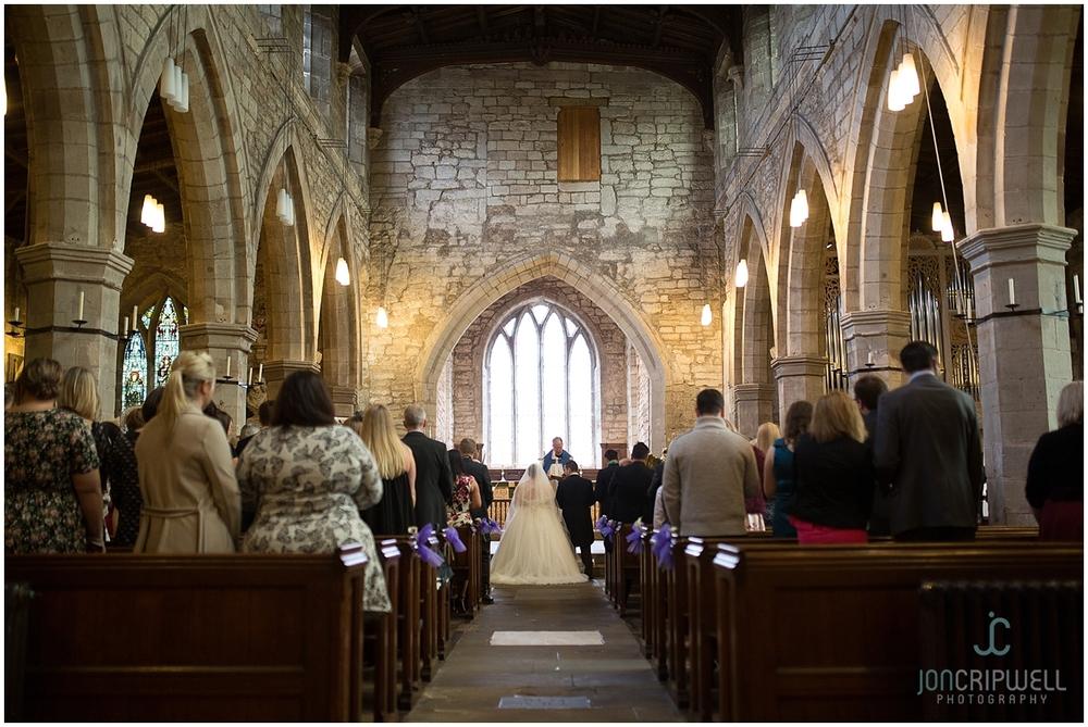 Repton Church wedding photography