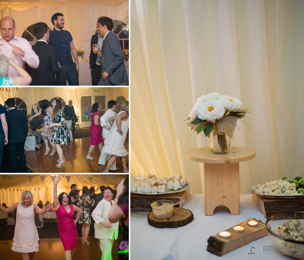 Rosliston Forestry Centre Wedding Evening reception