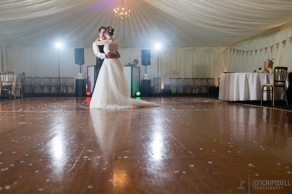 Rosliston Forestry Centre Wedding first dance
