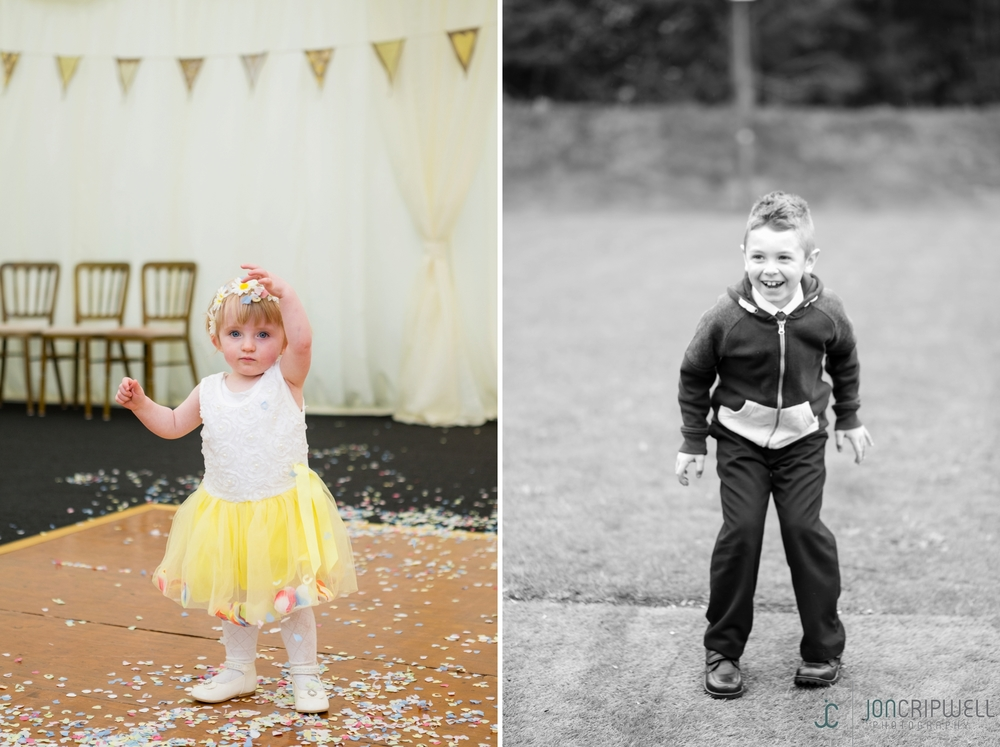 Rosliston Forestry Centre Wedding children