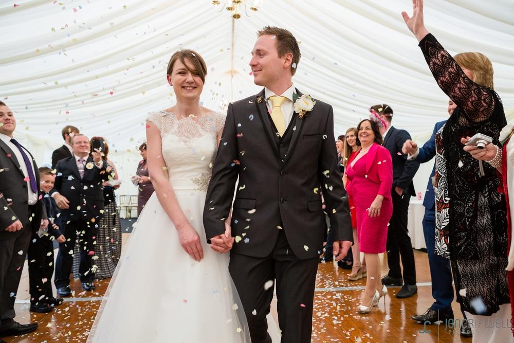 Rosliston Forestry Centre Wedding confetti