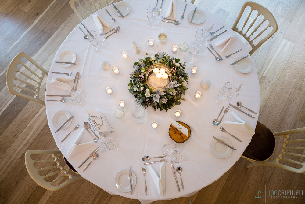 Winter wedding at Kelham House