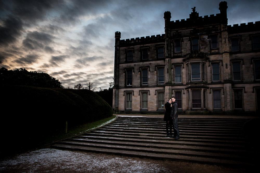 Elvaston Castle Engagement Session