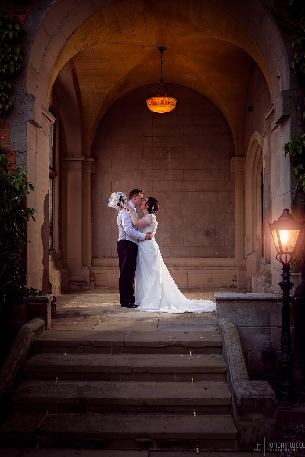 Paige & Tom at Hoarcross Hall