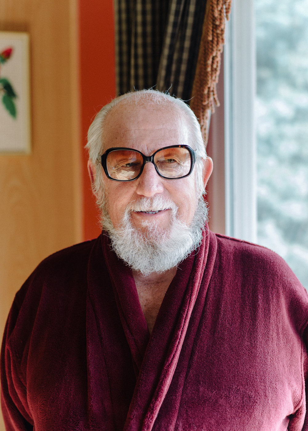 Gerald Foos at his home in Brighton, Colorado, 2016. Photo: Tag Christof