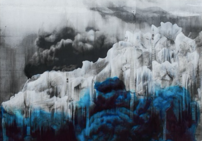 Ice 4, 2018 © Lorna Simpson Photo: James Wang