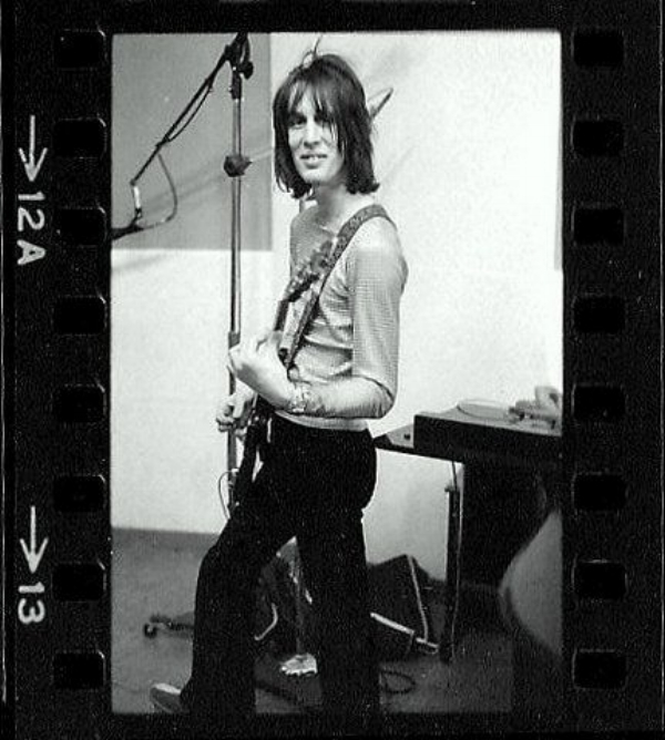"Todd Rundgren recording the ""Runt"" album in 1969 © 2017 Michael Friedman Photography"