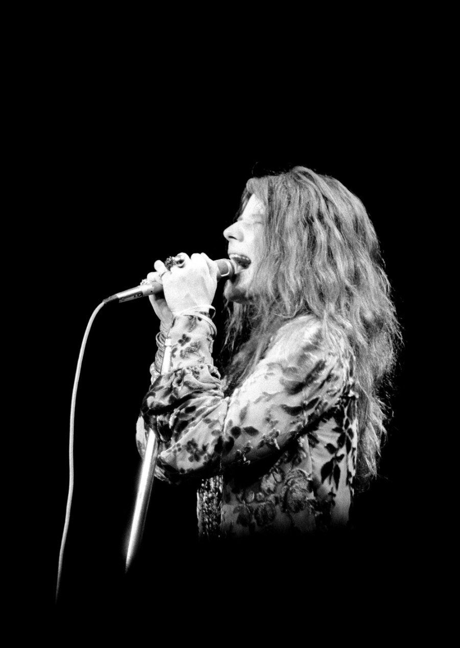 Janis Joplin at Madison Square Garden, 1969 © 2017 Michael Friedman Photography