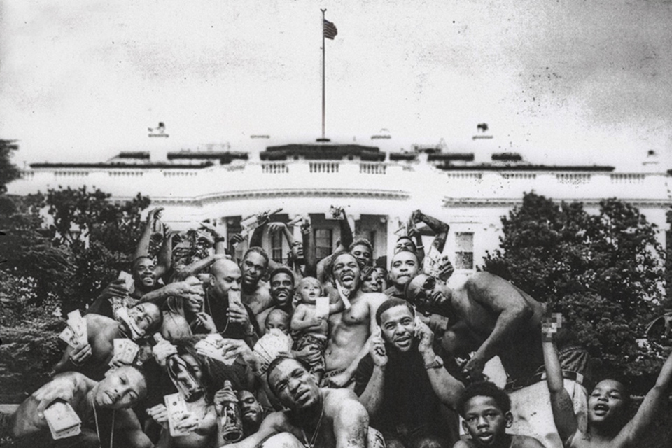 To Pimp a Butterfly  album cover. Photo: Kendrick Lamar.