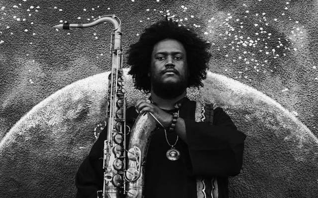 The Epic  album cover. Photo: Kamasi Washington.