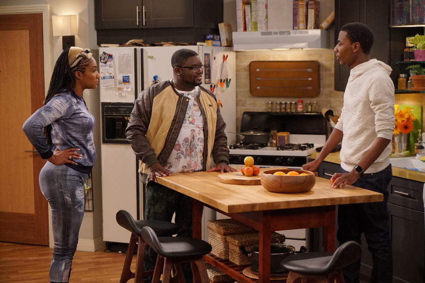 Lil Rel on NBC's  The Carmichael Show.
