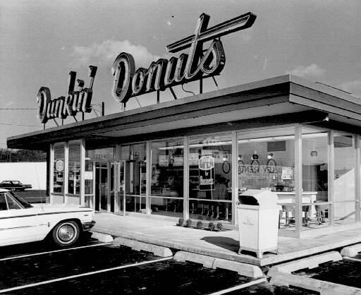 Even Dunkin' Donuts, once synonymous with filter, are offering espresso shots. Photo:  Salem Public Library Historic Photo Collection .