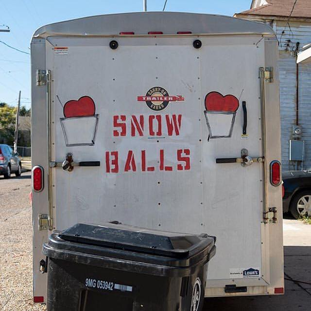 """No snow in New Orleans this year but there are always snow balls!""–@analogstreets for #MyAmericanVision.❤️"