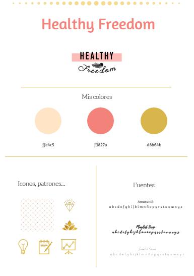 Healthy Freedom moodboard