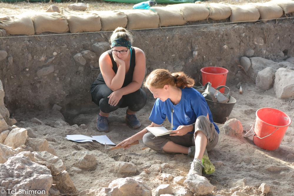 Excavating in Grid 94