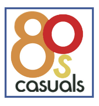 3c0b9896 80s Casuals 'Original Logo' T-Shirt / White — 80s Casuals