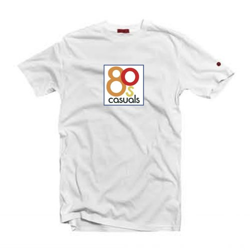 c5fc3134 80s Casuals 'Original Logo' T-Shirt / White. logo+white+j.jpg
