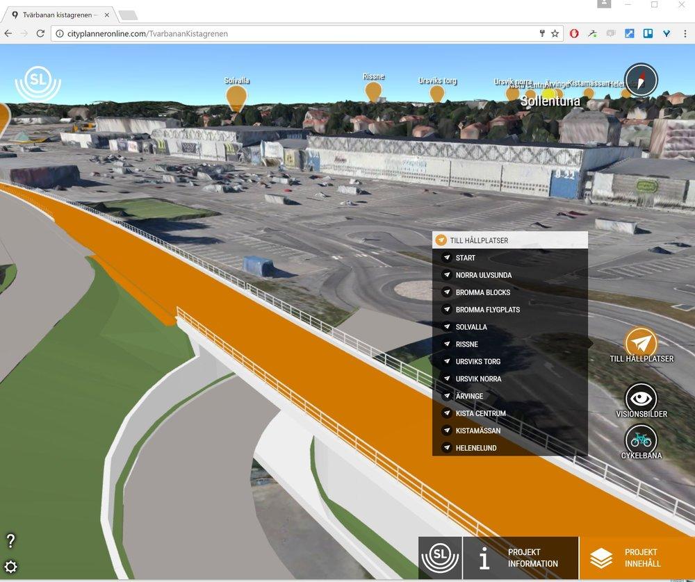 Lightrail Kistagrenen online