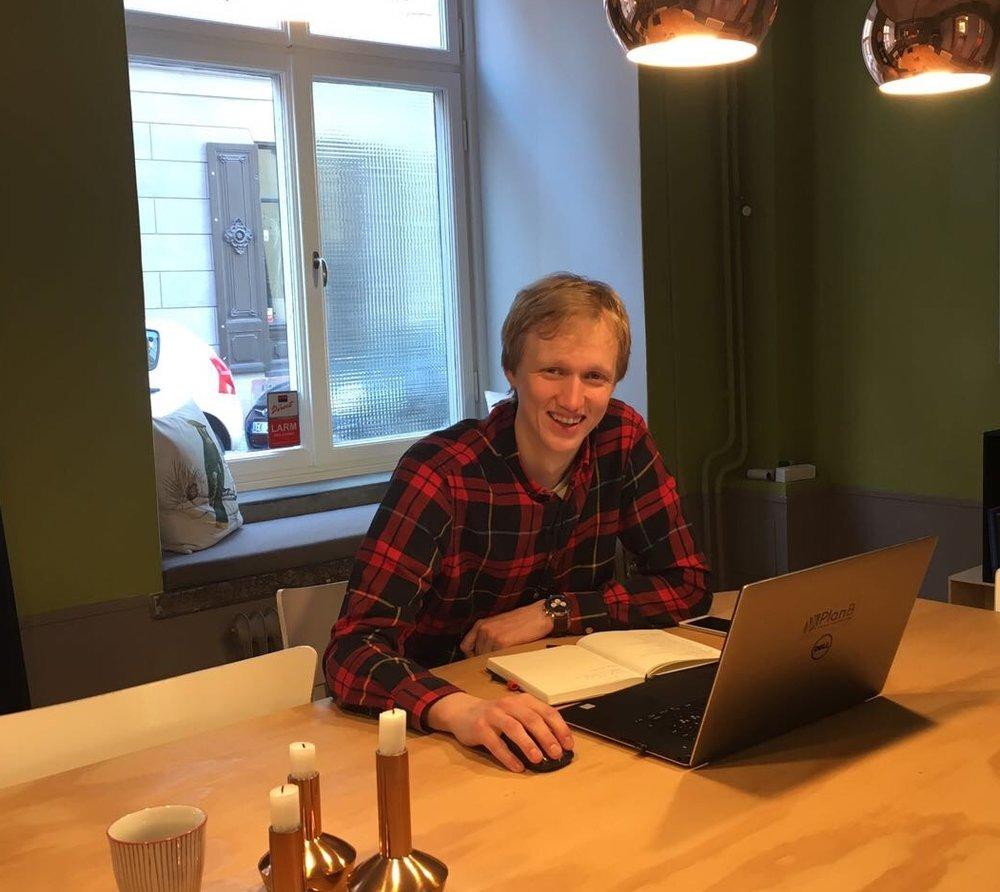 Erik Lindström, BIM- och datasamordnare