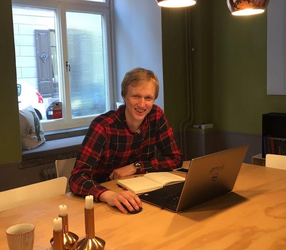 Erik Lindström, BIM- and information manager