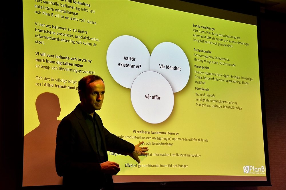 Rogier Jongeling (VD) skapar dialog kring vårt existensberättigande.