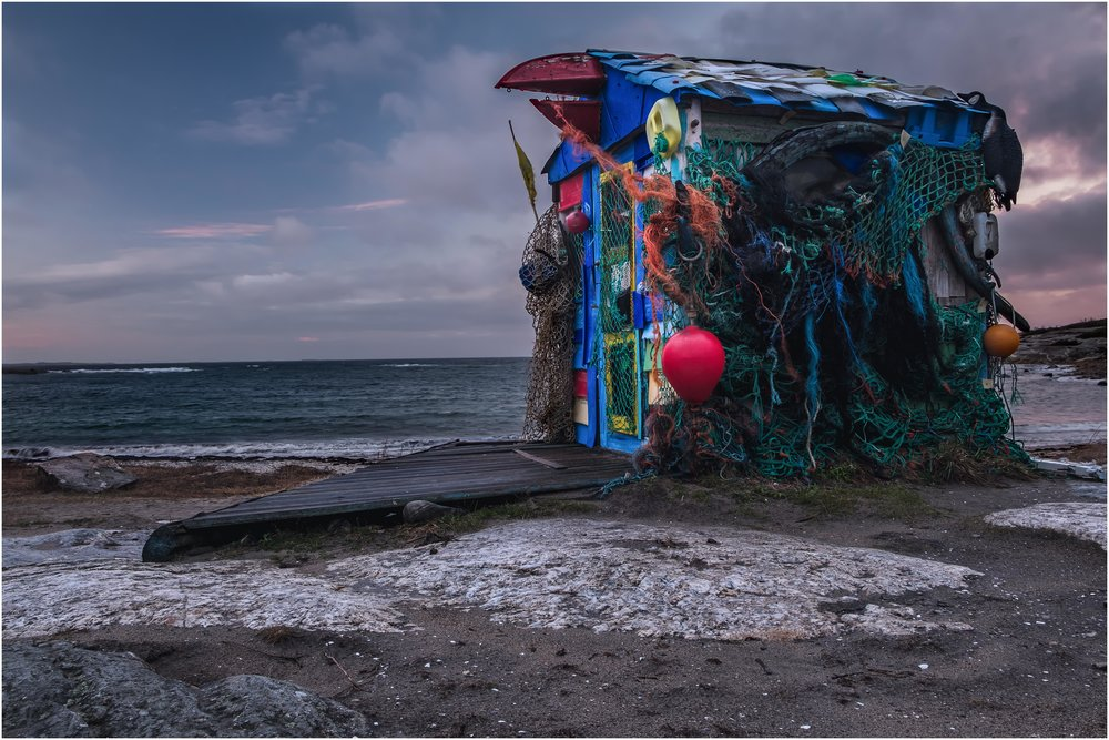 """""""The Shed"""" at Storesand beach taken with the Fuji X-T2 and the 18-55mm"""