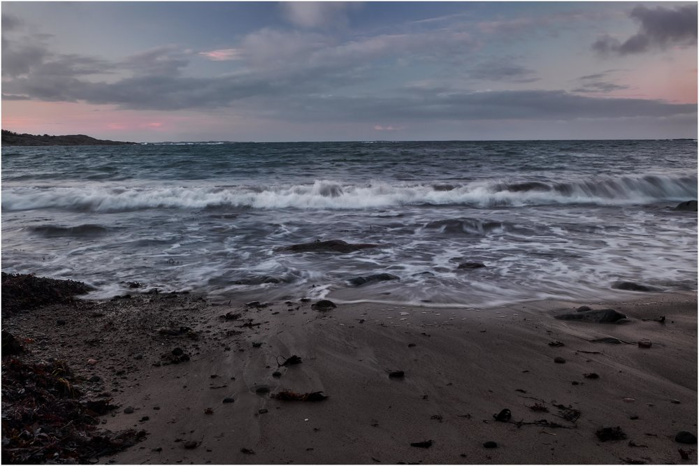 """""""Here it comes"""" on Storesand beach - Taken with the X-T2 and the 18-55mm"""