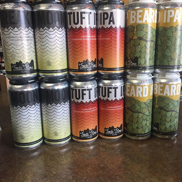 The afternoon just got better courtesy of @fontaflorabrew #hopbeard #tuft #breakofmoon