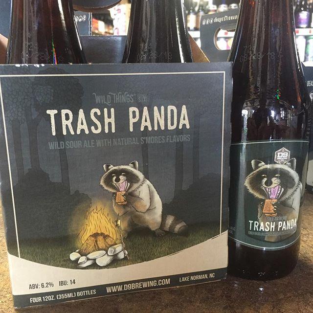 Wild Sour Ale with natural s'mores flavors #TrashPanda #AtTheMixx #d9