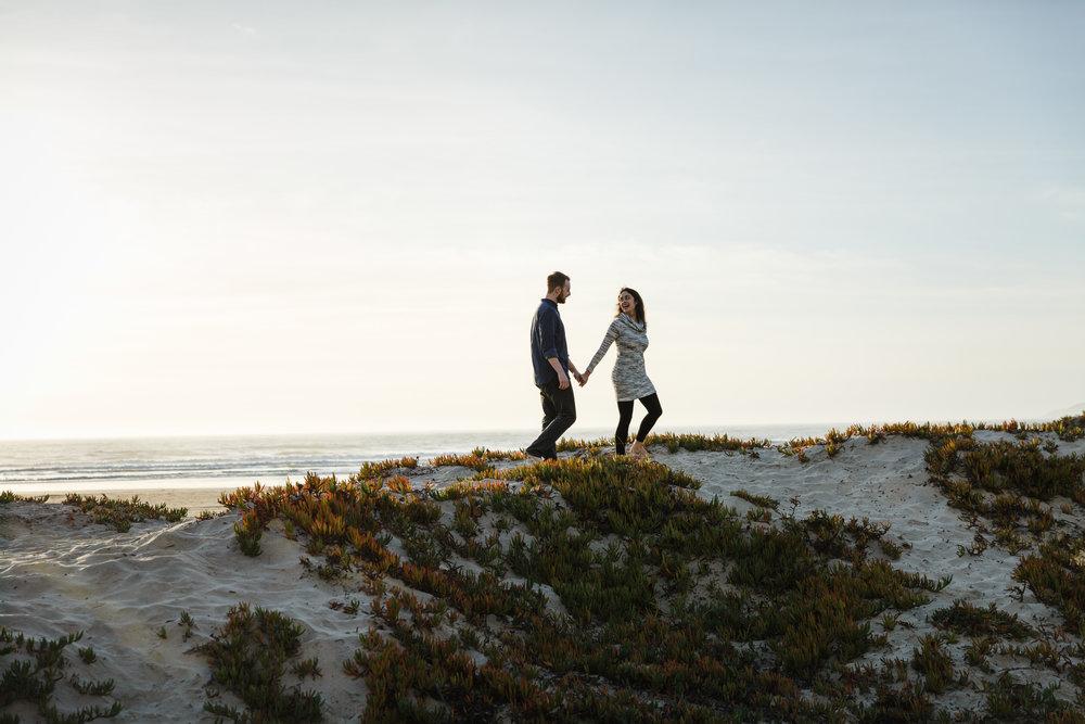 EMILY & GARRETT IN PISMO BEACH, CA