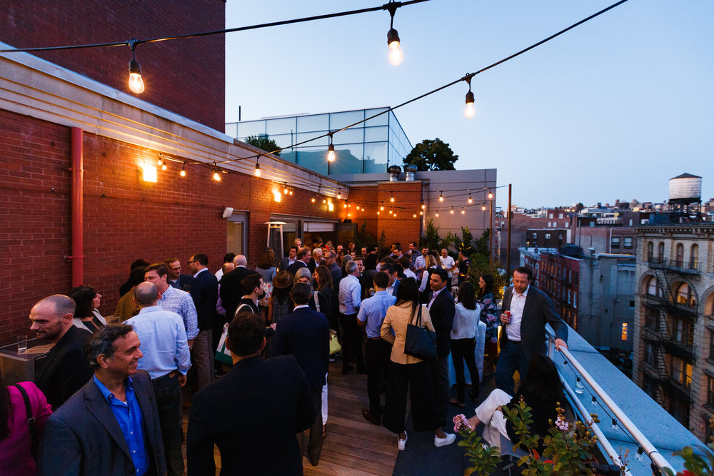 THE INFORMATION'S ROOFTOP COCKTAIL HOUR, NYC
