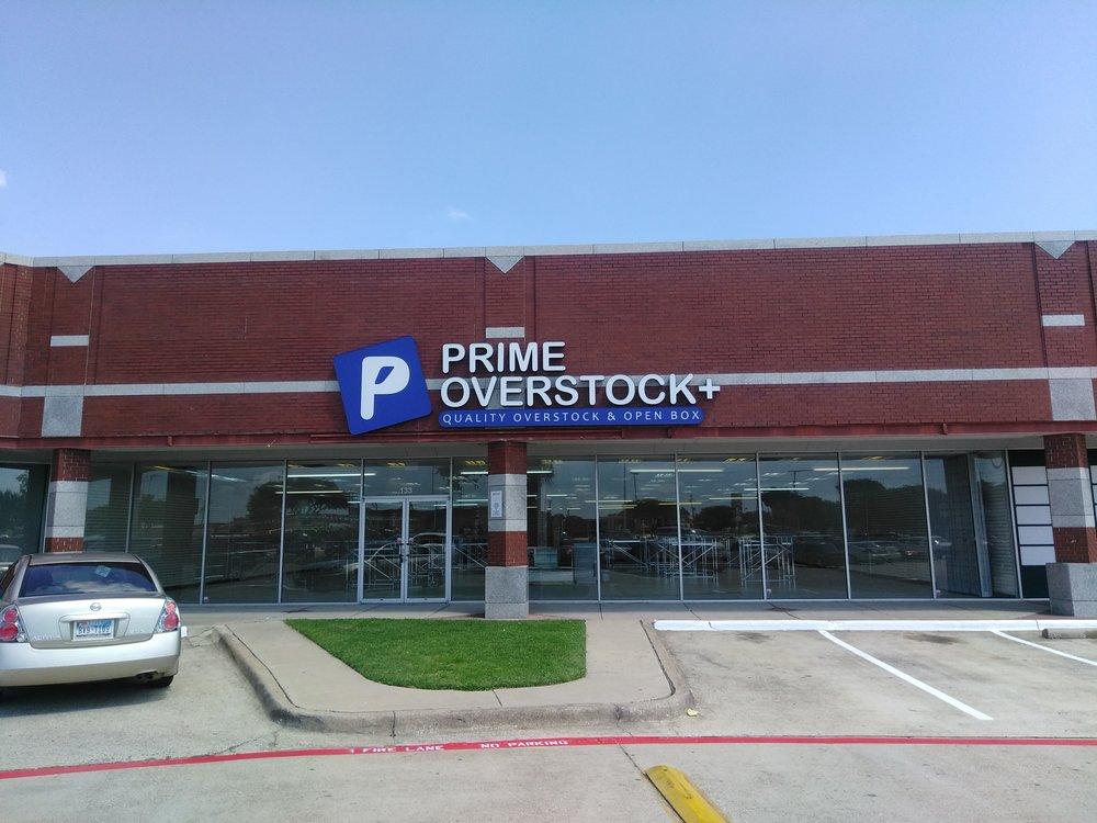 Prime Overstock-DFW locations