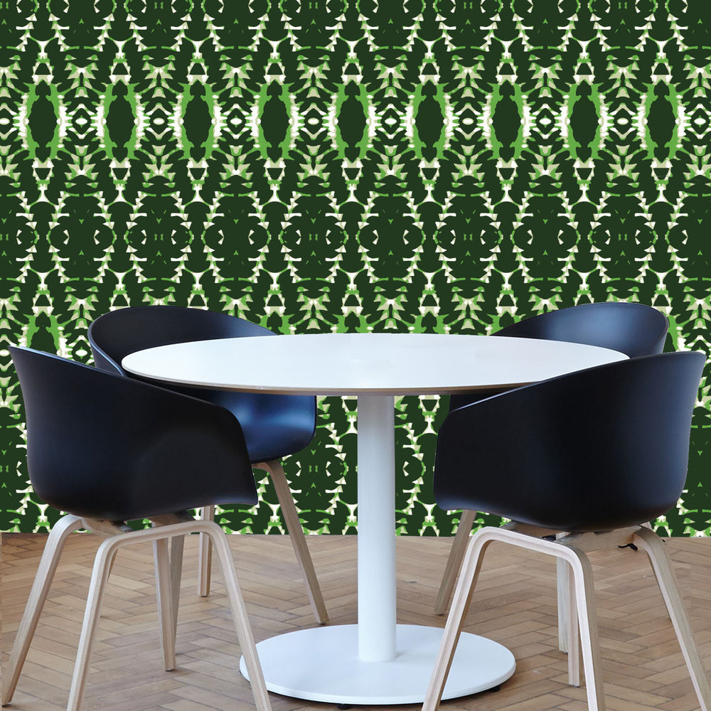 Garden Party - Secret Garden Wallpaper Design