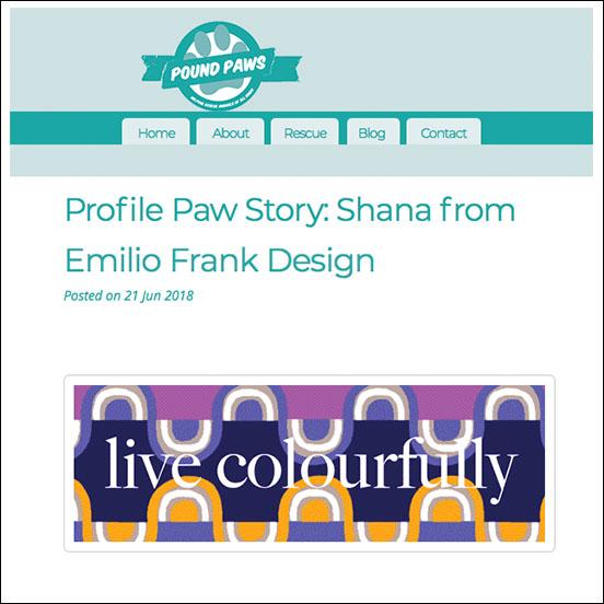Pound Paws x Emilio Frank Design