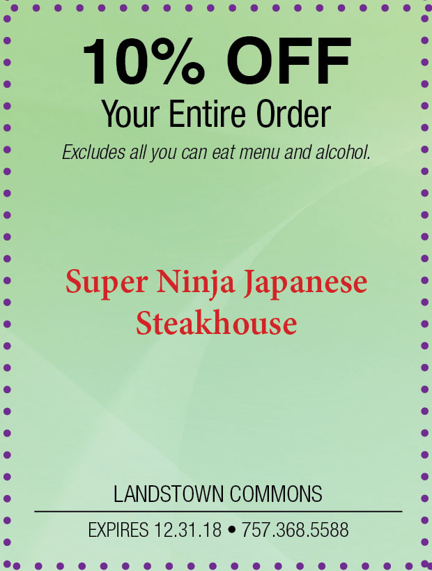 Landstown Super Ninja Japanese Steakhouse.jpg
