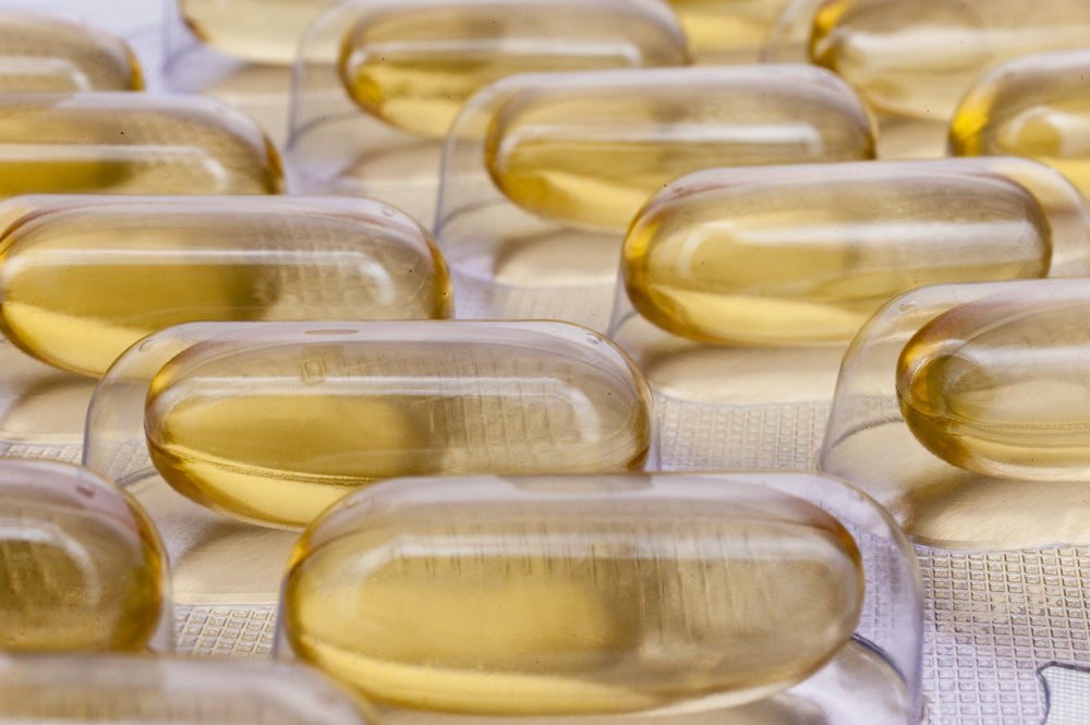 Pill capsules - integrative medicine