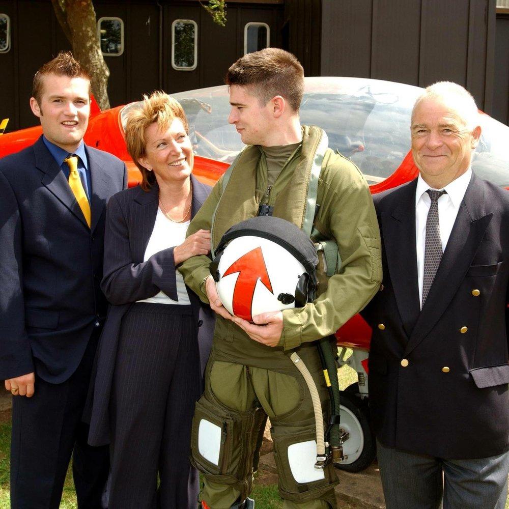 Ian, Linda, John and Pete Thornton