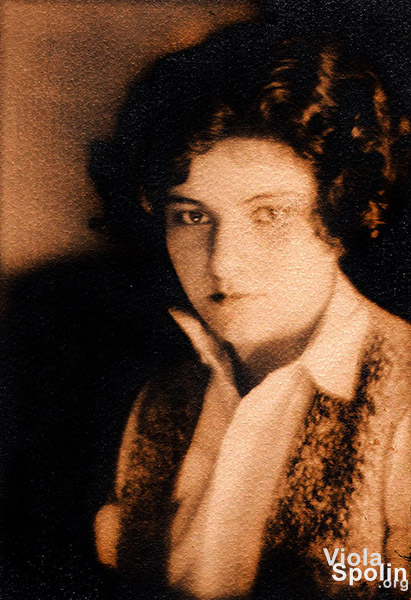 Viola Spolin taken by Robert Fizdale, 1927